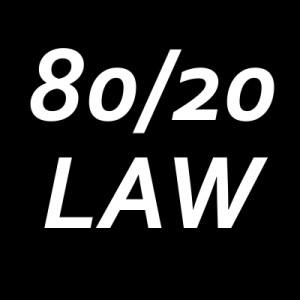 80/20 principle Paul Connor